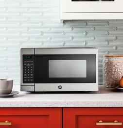 GE 0.7 Cu. Ft. Capacity Countertop Microwave Oven JES3072SHS