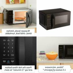 0.7 Cu. Ft. Microwave Oven 700W Compact Size Quick Cook Chil