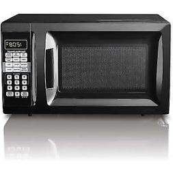 Hamilton Beach 0.7cu FT Digital Countertop Microwave Oven Ki