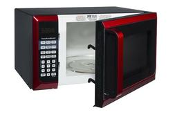 HAMILTON BEACH 0.9 CU FT MICROWAVE OVEN, RED P90D23AL-WRR *D