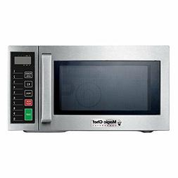 0.9 Cubic Foot Commercial Microwave Oven Durable Stainless S