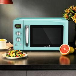 0.9Cu.ft. Retro Countertop Concise Microwave Oven 900W 8 Coo