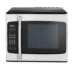1 1 cu ft stainless steel microwave