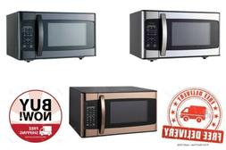 Hamilton Beach 1.1 Cu. Ft. Stainless Steel Microwave Oven. 3