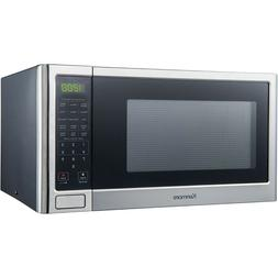1.2 Cubic Ft Microwave Oven Stainless Steel Sensor Cooking O