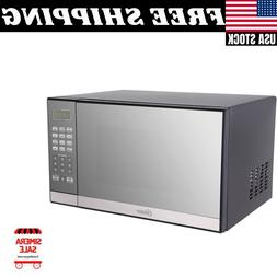 Oster 1.3 Cu. Ft. Stainless Steel with Mirror Finish Microwa