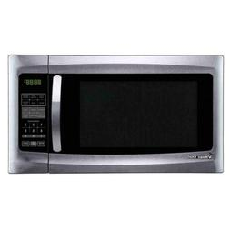 Magic Chef 1.6 Cu-Ft. Countertop Microwave in Stainless Stee