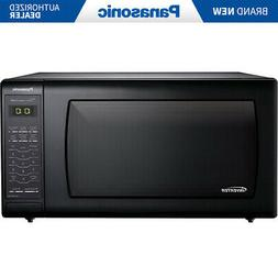 Panasonic 1.6 Cu. Ft. Countertop Microwave Oven in Black - N
