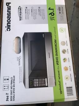 Panasonic 1.6-cu. ft. Microwave Oven, Stainless Steel 980002