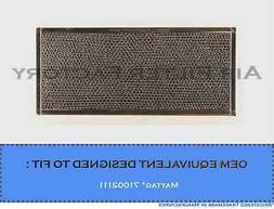 1 PK-COMPATIBLE MAYTAG 71002111 MICROWAVE GREASE FILTER 6-7/