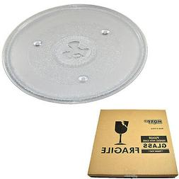 "10-1/2"" Glass Turntable Tray for Avanti 252100500497 M0669TB"