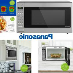 Panasonic 1250W Microwave Oven Cooking Frozen Vegetables Piz