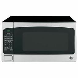 GE 2.0 Cubic Foot Countertop Microwave Oven, Silver