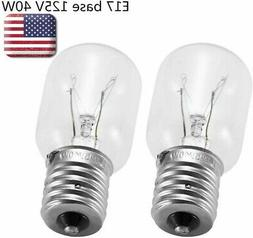 Bulbs for Whirlpool 8206232A Technical Precision Brand Technical-Precision-8206232A 2 Pack