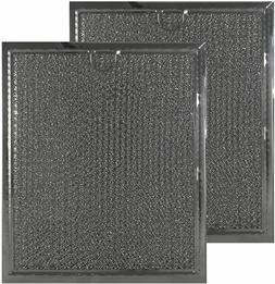 2-PACK Grease Filter for GE Microwave fits WB6X486 WB06X1012