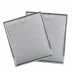 2-PACK Microwave Grease Filter for GE fits WB6X486 WB06X1012