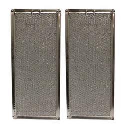 2 PACK MMV4205BAS Maytag Microwave Oven Aluminum Grease Filt