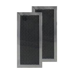 "COMPATIBLE GE JX81H CHARCOAL CARBON MICROWAVE FILTERS 4"" x"