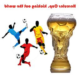 2018 World Football Cup Hercules Cup Beer Glass Cup Couple B