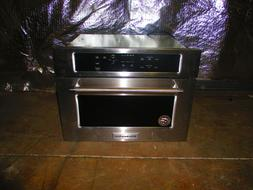 """KitchenAid 24"""" Stainless Steel Built In Microwave Oven KMBS"""