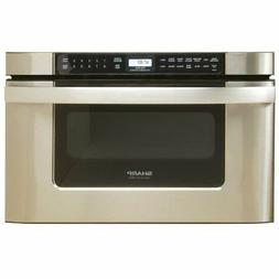 24Inch Microwave Drawer Oven, Stainless steel