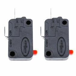 2PCS Microwave Oven Door Switch for LG GE Starion SZM-V16-FD