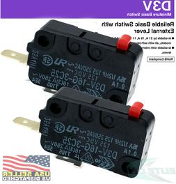 2x Omron Microwave Door Switch for LG GE Starion SZM-V16-FD-