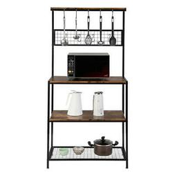 3 Tier Baker's Rack Microwave Oven Stand Kitchen Storage Org
