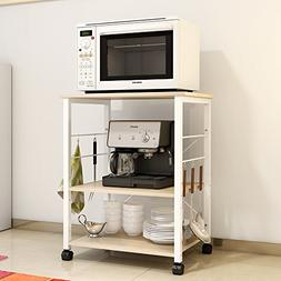 soges 3-Tier Kitchen Baker's Rack Utility Microwave Oven Sta