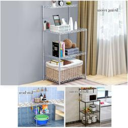 3-Tier Microwave Stand Shelving Home Storage Shelves Shelf K