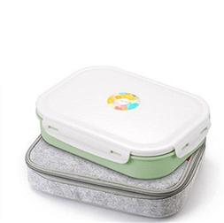 Modalee 304 Stainless Steel Lunch Box With Compartments Micr