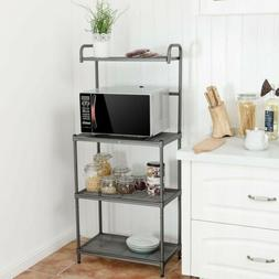 4-Tier Home Kitchen Baker Rack Microwave Oven Stand Storage