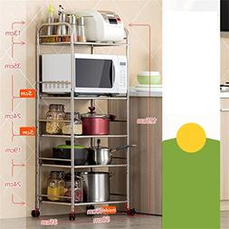 5-shelf Shelving Unit | Heavy Duty Stainless Steel Kitchen S