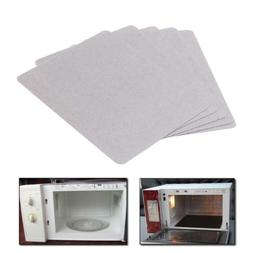 5pcs Mica Plate Sheets Microwave Oven Replace Part 120x150mm