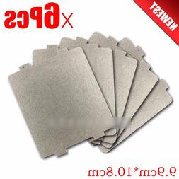 6pcs 9.9cm*10.8cmcm Spare parts thickening mica Plates <font