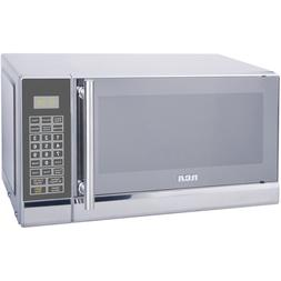 RCA 700 Watts 0.7 Cu Ft Stainless Steel Design Microwave Def