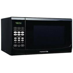Emerson 0.9 CU. FT. 900 Watt, Touch Control, Black Microwave