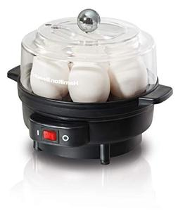 Hamilton Beach 25500 7 Egg Cooker with Built-In Timer and Po
