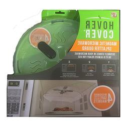 Hover Cover - Magnetic Microwave Splatter Lid With Steam Ven