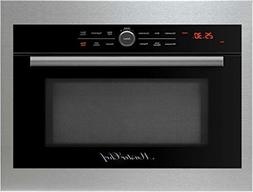"Master Chef, 5 Ovens in 1, 24"" in.Built In Convection Microw"