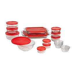 Pyrex Easy Grab Glass Bakeware and Food Storage Set