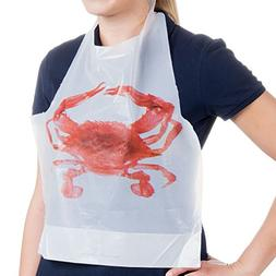 Set of 50 for Seafood Feast - 25 Disposable Adult Size Crab