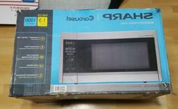 Sharp R451ZS Sensor Microwave , Stainless Steel, Standard