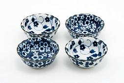 Hinomaru Collection Authentic Japanese Porcelain Small Bowl