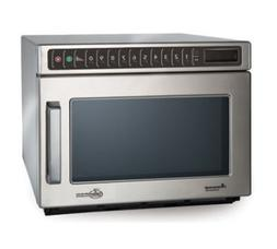 Commercial Microwave, 0.6 Cu. Ft, 1200 Watts, Push Buttons,