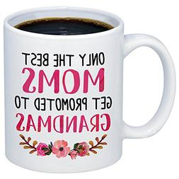 MyCozyCups Baby Reveal Gift For Mom - Promoted To Grandma 20