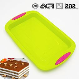 Large Baking Tray Set Nonstick by KuXun | Non-Stick Silicone