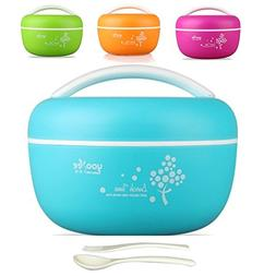 Bento Box Lunch Bowl for Adults, Women. Salad Container and