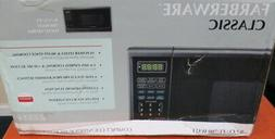 Farberware Black FMO16AHTBSA 1.6 Cu. Ft. 1300-Watt Microwave