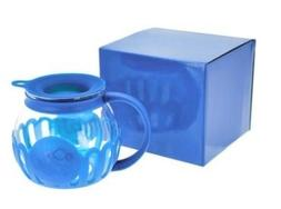 Ecolution Blue 3qt Microwave Popcorn Popper in Blue Gift Box